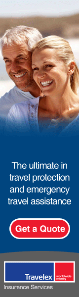 Protect yourself and your trip with Travelex travel insurance.
