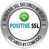 This site is secured by Positive SSL from Comodo